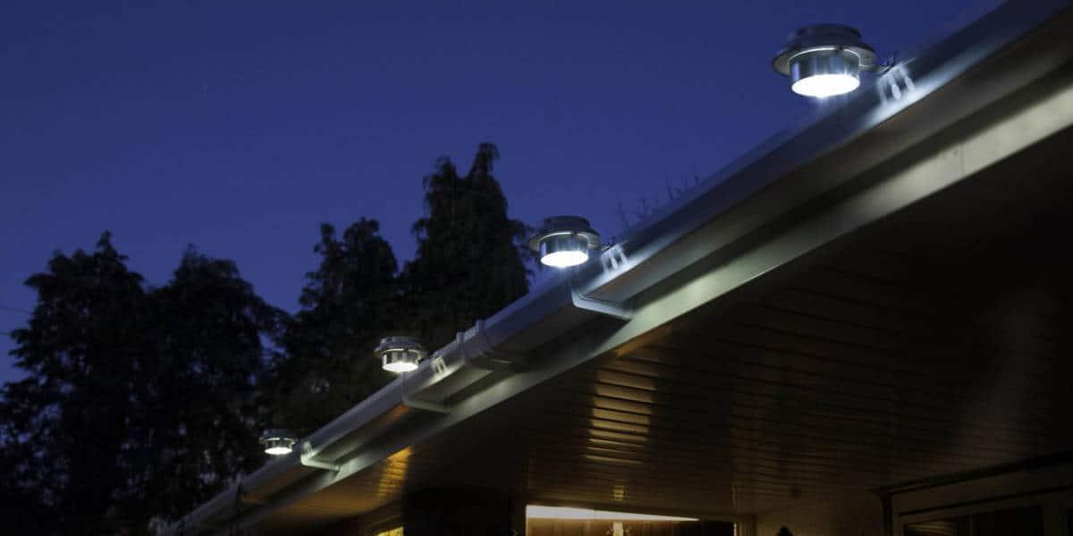 Best Solar Gutter Lights