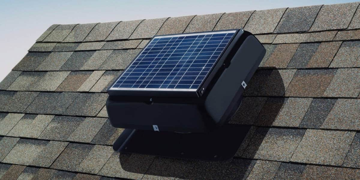 Best Solar Powered Attic Fan