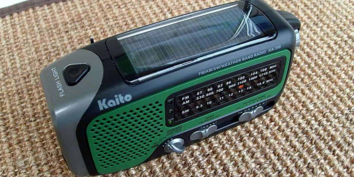 Best Solar Powered Radio
