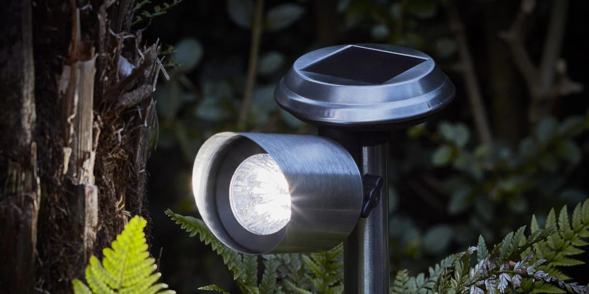 Solar Powered Spot Lights